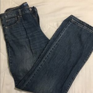Boys old Navy bootcut jeans